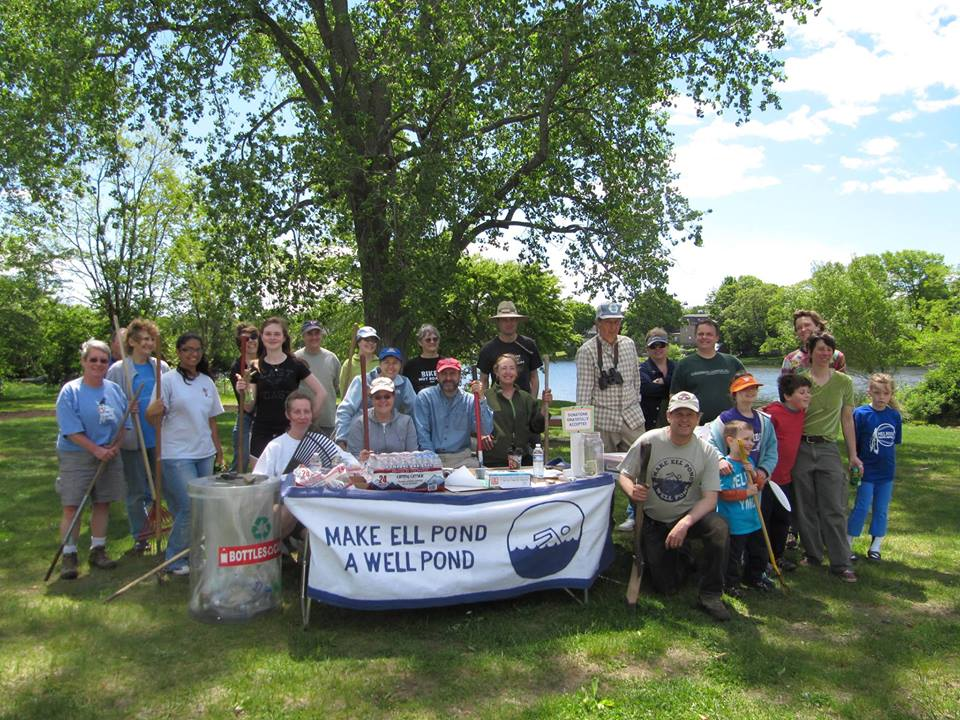 Ell Pond Cleanup Day: Saturday, May 4, 2019; 9:00 – 12:00
