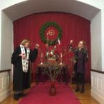 Melrose UU Church Creates Solstice Prayer Tree