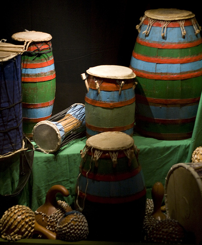 Drumming, Quilting, and Meditation – Oh My!