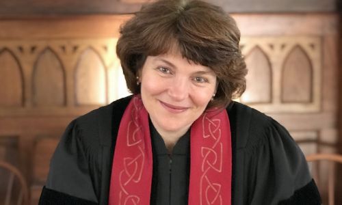 MEET OUR MINISTERIAL CANDIDATE! Rev. Susanne Intriligator