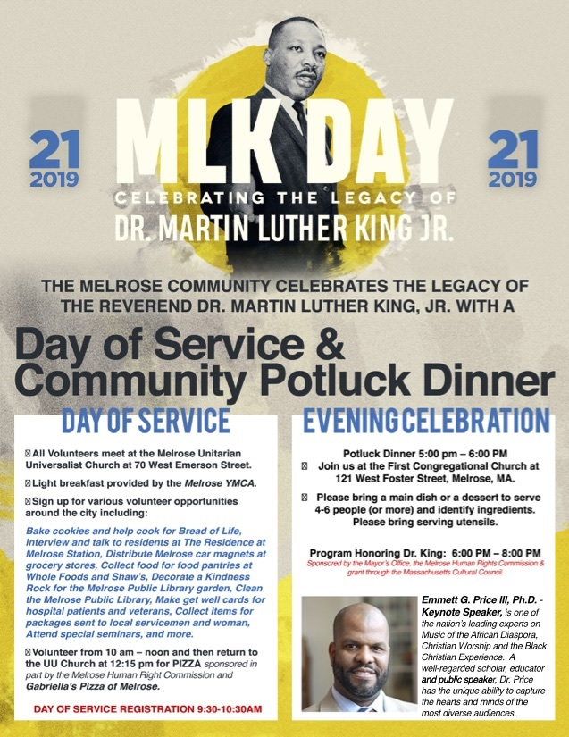 "MLK Day Activities Are ""On"" For Today! Mon, Jan 21, 2019"