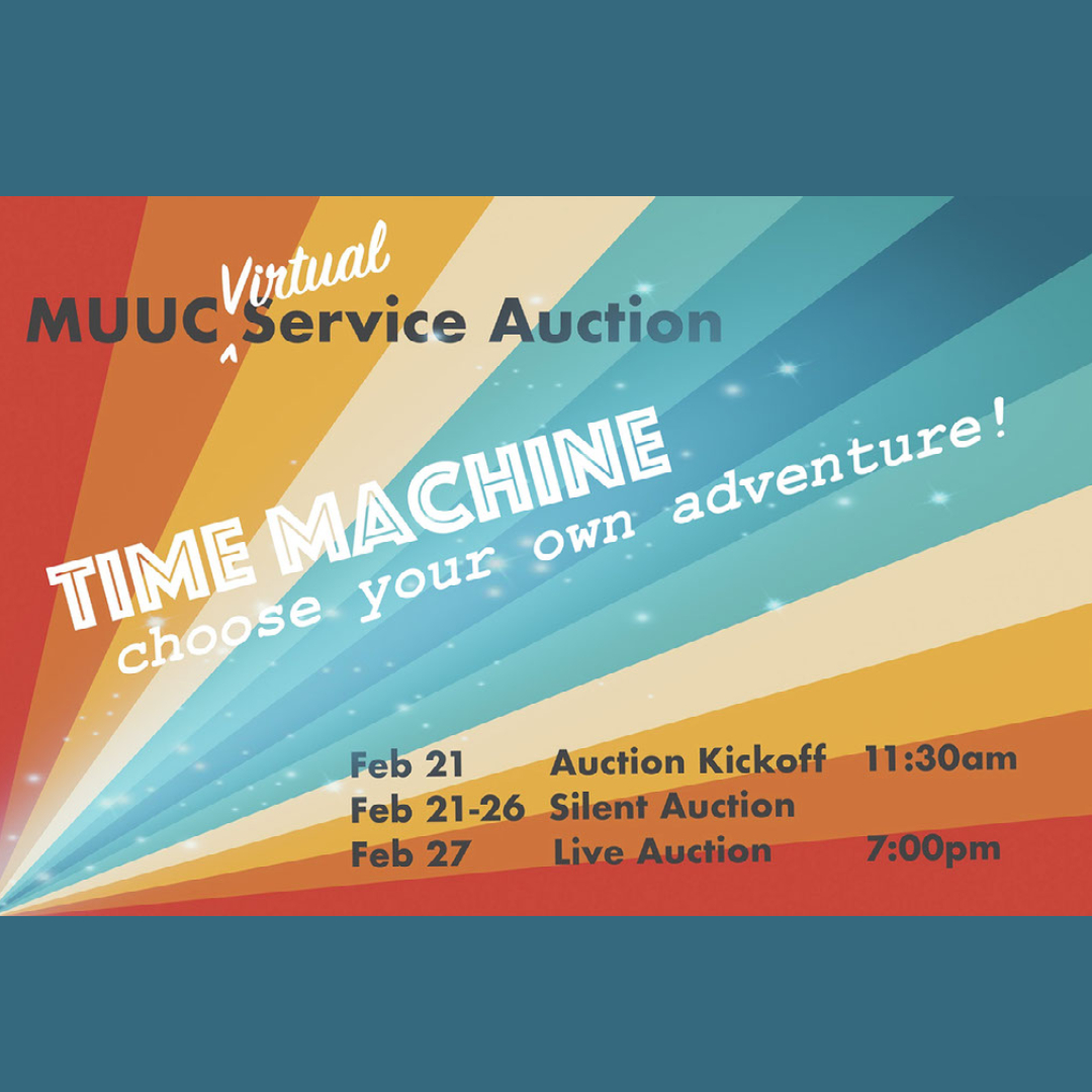 MUUC Service Auction coming on February 21 & February 27