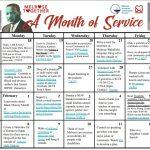 MLK Month of Service