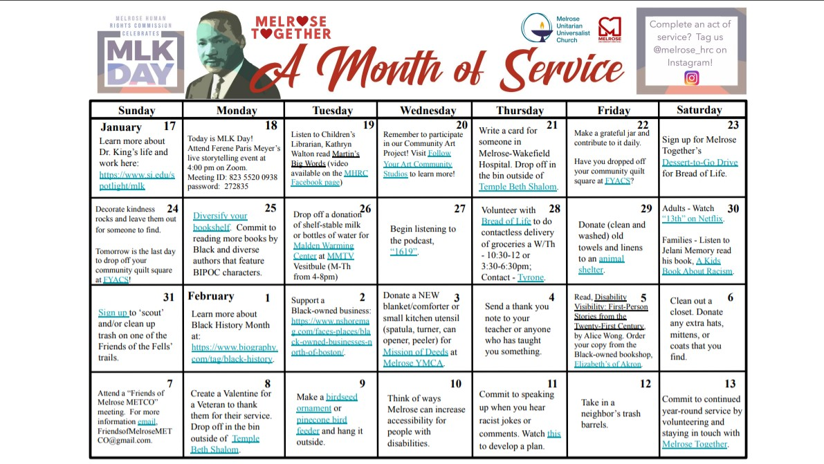 MLK Month of Service