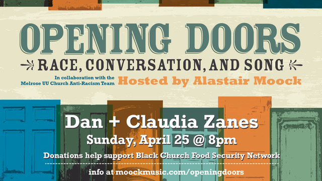 Opening Doors: Race, Conversation, and Song featuring Dan + Claudia Zanes