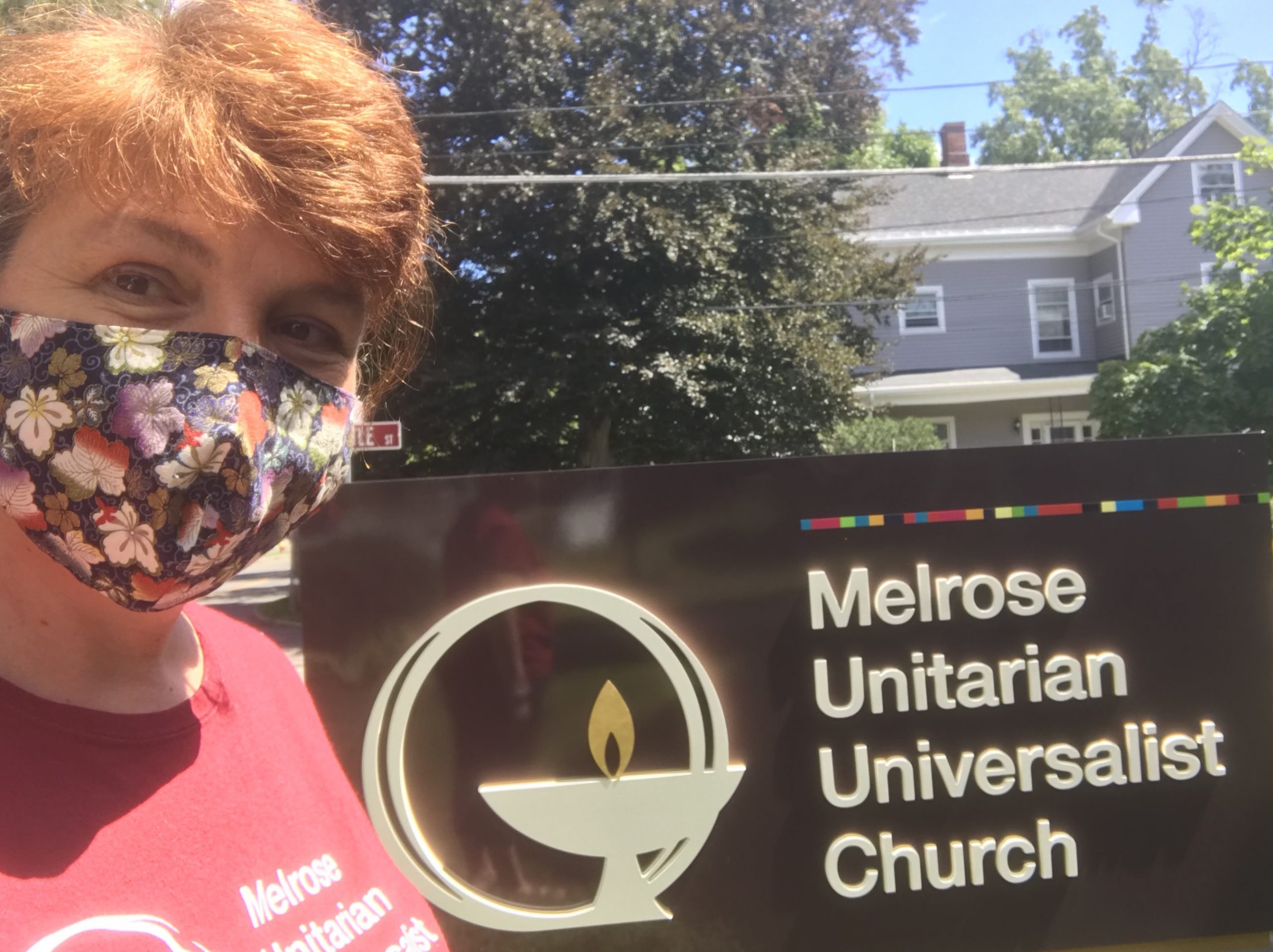 Rev. Susanne's Outdoor Office Hours: Wednesdays 5-7pm