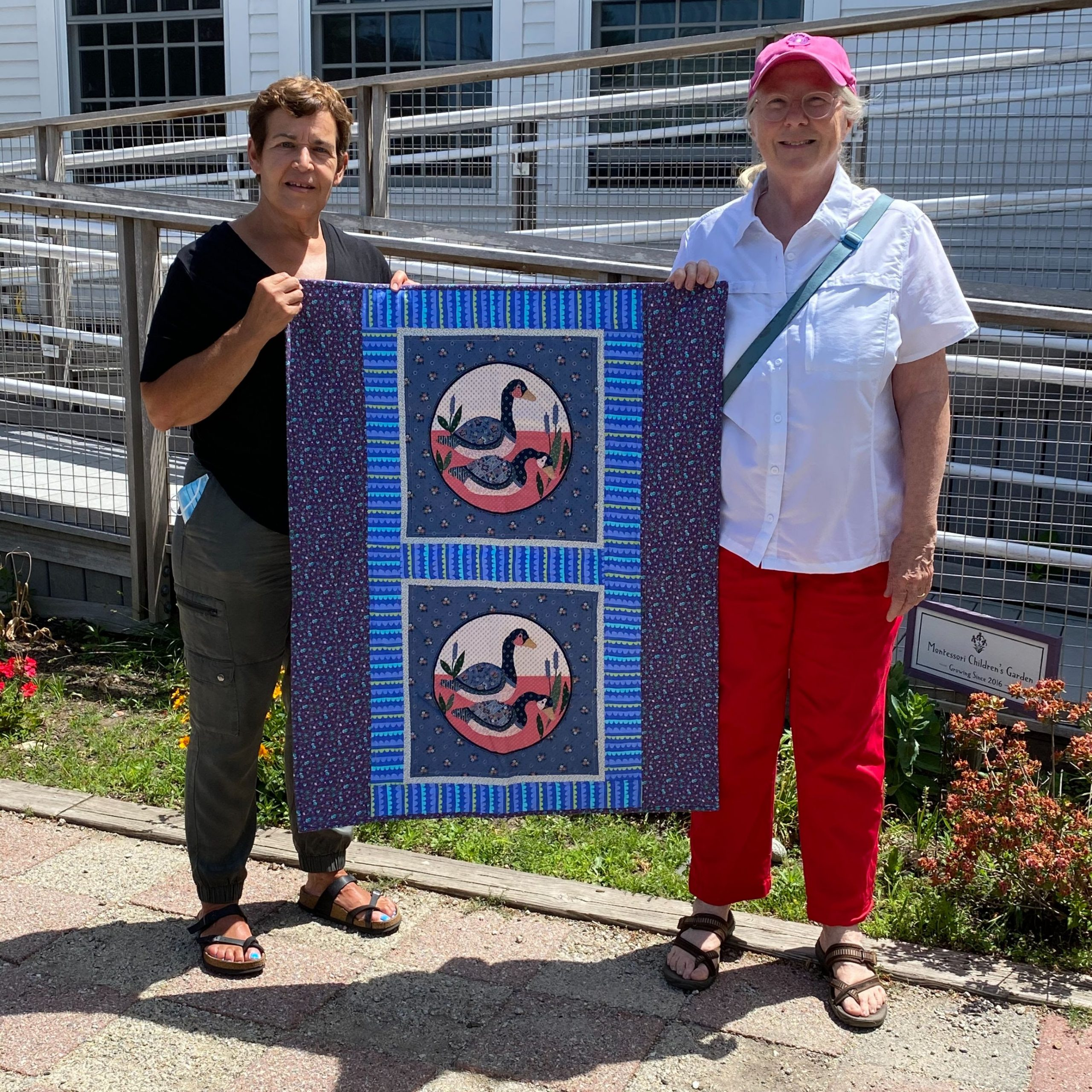 Quilters Donate 30 Quilts to Tufts Children's Hospital