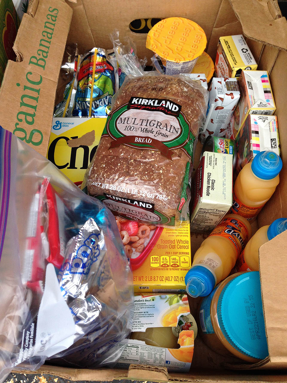 Help Hungry Kids: Donate a Vacation Food Box