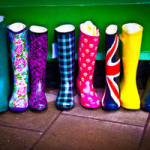 Colorful Boots - Woodhall Spa, Lincolnsire UK